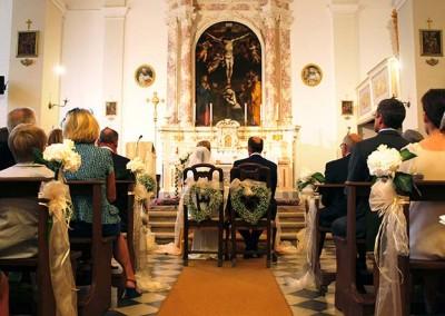 Katholische Hochzeit in Italien