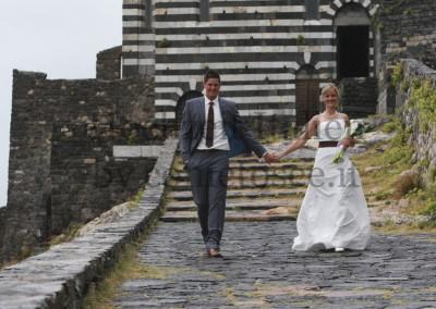 Brautpaar bei Hochzeit in Protovenere