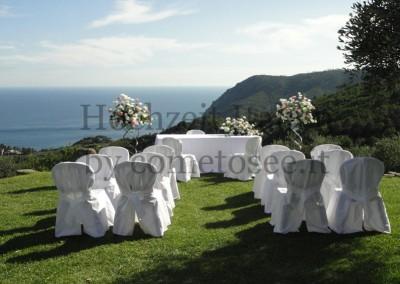 Hochzeit in den Cinque Terre: Traung mit Meerblick