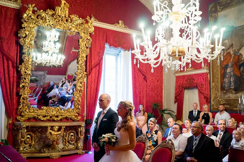 Roter Saal in Florenz