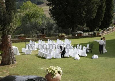 Vorbereitungen für eine unvergessliche Hochzeit in der Toskana