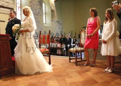 Heiraten in der Toskana: Brautpaar bei Trauung in Florenz