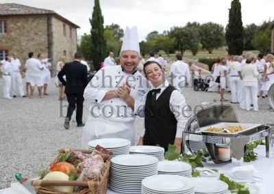 Erstklassiges Italienisches Catering bei einer Hochzeit in der Toskana