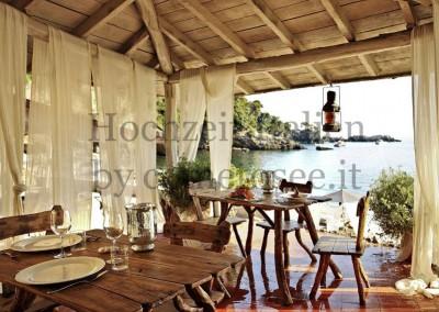Perfekte Location für traumhafte Hochzeiten am Mittelmeer in Italien