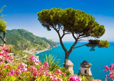 Golf von Salerno, Amalfi Küste