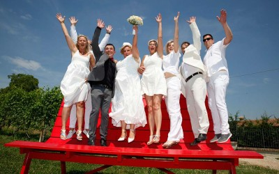 Standesamtliche Hochzeit im Piemont