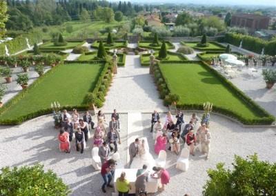 Zivile Trauung in toskanischer Villa