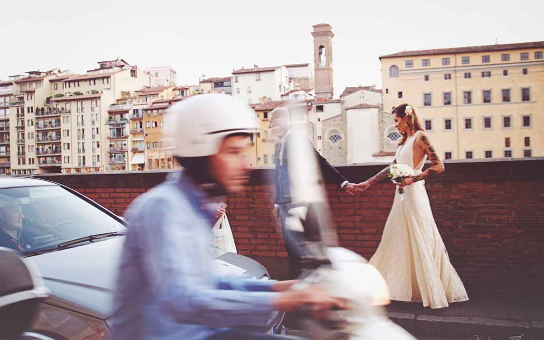 Freie Trauung über den Dächern von Florenz