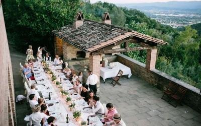 Landhaushochzeit Toskana