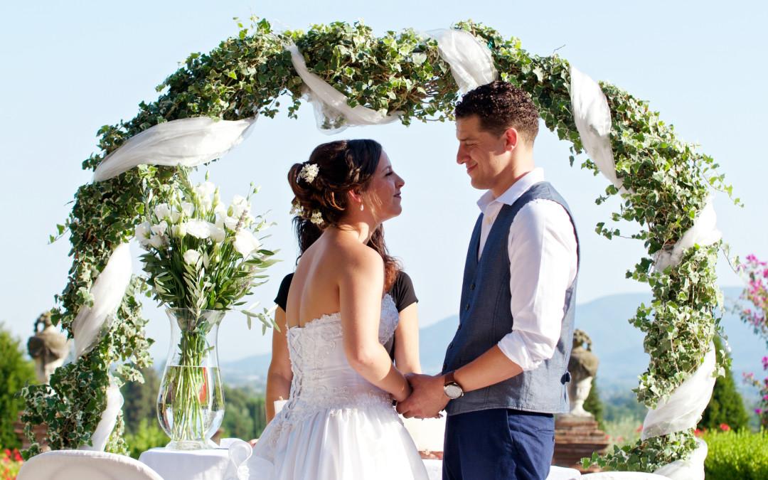 Heiraten in den Hügeln von Lucca – Familiär und edel