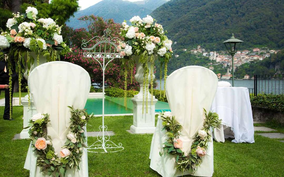 Heiraten am Comer See – Hochzeit in einer Villa