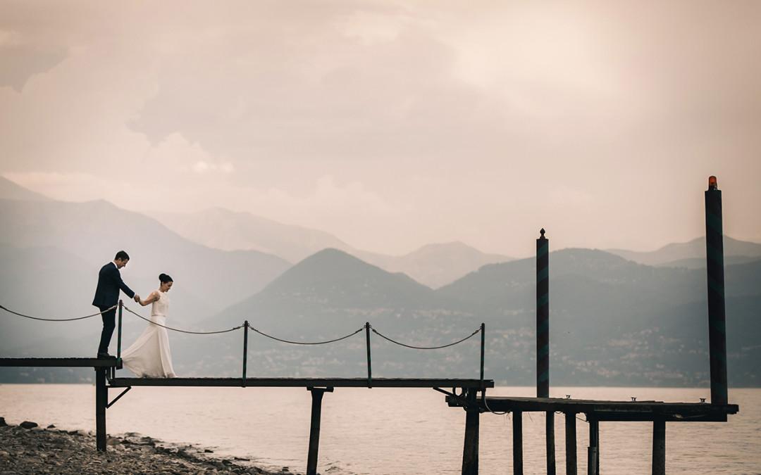 Villa-Hochzeit am Lago Maggiore