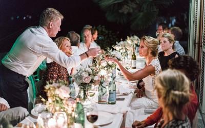 Symbolische Hochzeit im Freien am Lago Maggiore