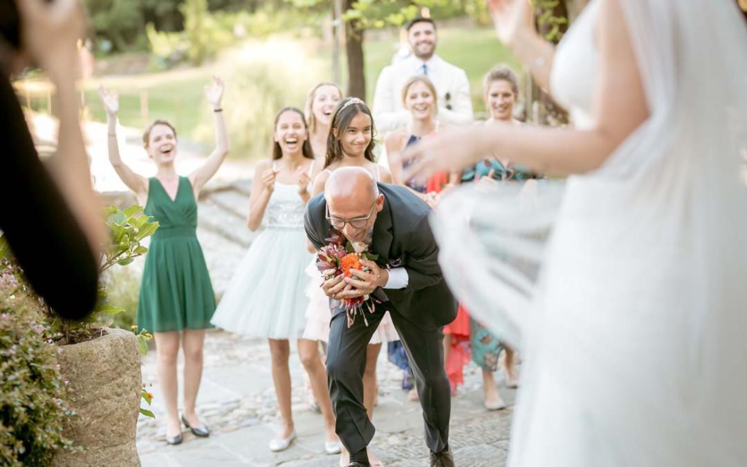 Brautstrausswerfen