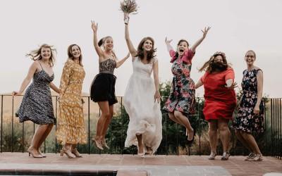 Eine Spätsommer-Hochzeit in einem Borgo in der Toskana