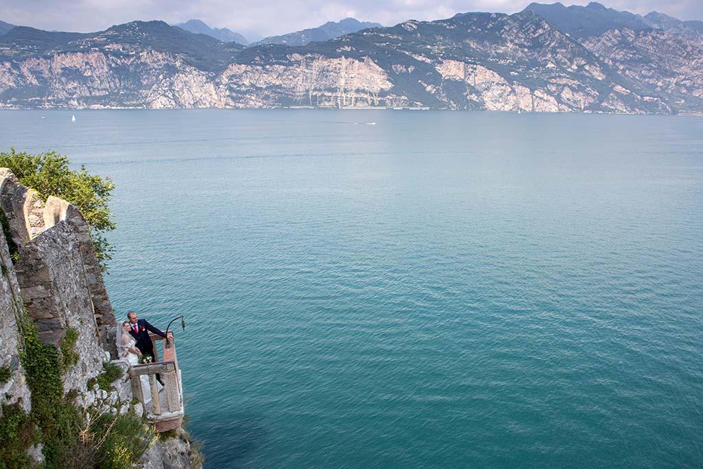 Brautpaar am Gardasee