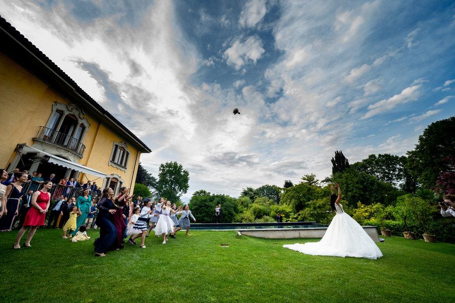 Brautpaar in Stresa am Lago Maggiore